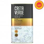 Creta Verde оливковое масло Extra Virgin P.D.O. Kolymvari с о.Крит 3л жесть