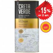 Creta Verde оливковое масло Extra Virgin P.D.O. Kolymvari с о.Крит 5л жесть