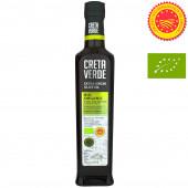 Creta Verde оливковое масло Extra Virgin Organic (Bio) P.D.O. Kolymvari с о.Крит 500мл стекло