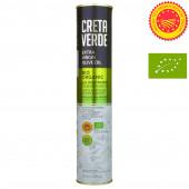 Creta Verde оливковое масло Extra Virgin Organic (Bio) P.D.O. Kolymvari с о.Крит 500мл жесть