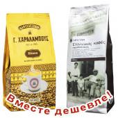 НАБОР Charalambous GOLD кофе молотый с о.Кипр 500г фольга + Nektar кофе греческий традиционный молотый 500г фольга (1шт=863р)