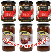 НАБОР 3шт Delphi томаты сушеные в подсолнечном масле 340г стекло + 3шт Kontos томаты вяленые в подсолнечном масле 270г стекло (1шт=262p)