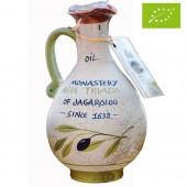 Agia Triada Монастырское оливковое масло Extra Virgin Organic (Bio) с о.Крит 750мл керамика