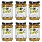 Delphi зеленые оливки в рассоле 6штх700г стекло (1шт=289р)