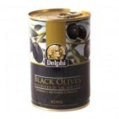 Delphi маслины в рассоле 400г жесть