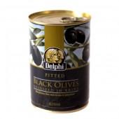 Delphi маслины б/к в рассоле 400г жесть