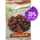 "Ilida оливки ""Amfissa"" в оливковом масле Extra Virgin 250г фольга"
