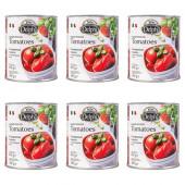 Delphi томаты очищенные в собственном соку 6штх800г жесть (1шт=99р)