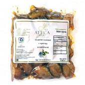 Attica Food оливки зеленые с орегано и паприкой 200г вакуум