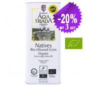 Agia Triada Монастырское оливковое масло Extra Virgin Organic (Bio) с о.Крит 5л жесть