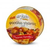 Aigaio печеная гигантская фасоль из Касторьи в томатном соусе 280г жесть