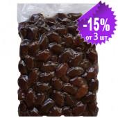 """Attica Food запеченные черные гигантские оливки """"Damaskino"""" 500г вакуум"""