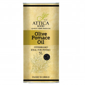 Attica Food оливковое масло Pomace 5л жесть (1л=360р)