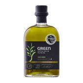 Attica Food оливковое масло GREEN (новый урожай) Extra Virgin нефильтрованное 0,2% с п/о Пелопоннес 500мл стекло