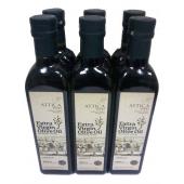 Attica Food оливковое масло Extra Virgin 0,3% c п/о Пелопоннес 6штх500мл стекло (1шт=420р)