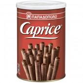 Вафли венские с фундуком и шоколадным кремом Caprice 400г жесть