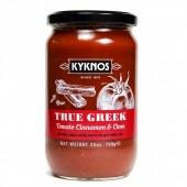 Kyknos соус из томатов, корицы и чеснока 709г стекло