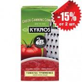 Kyknos томаты протертые 500г тетрапак
