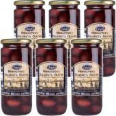 """Delphi маслины """"Kalamata"""" в рассоле Монастырские 6штх480г стекло (1шт=319р)"""