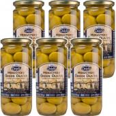 Delphi оливки в рассоле Монастырские 6штх480г стекло (1шт=259р)