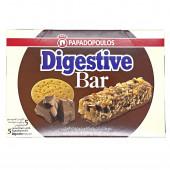 """Злаковый батончик с кусочками печенья и молочным шоколадом """"Digestive"""" """"PAPADOPOULOS"""" 140г"""