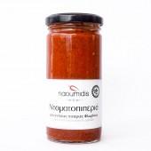Naoumidis соус из сладкий перца и помидоров BIO 260г стекло
