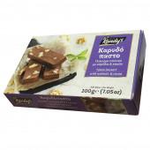 """Десерт из кунжута с какао и грецким орехом """"каридопасто"""" KANDY'S 200г"""