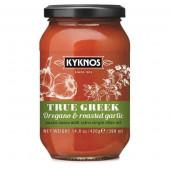 Kyknos соус из томатов, орегано и запеченного честнока 350г стекло