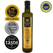 Lesvos gold P.G.I. оливковое масло Extra Virgin PREMIUM 0,2% с о.Лесбос 500мл стекло