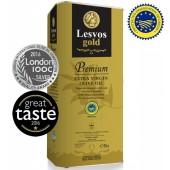 Lesvos gold P.G.I. оливковое масло Extra Virgin PREMIUM 0,2% с о.Лесбос 5л жесть (1л=798р)
