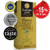 Lesvos gold P.G.I. оливковое масло Extra Virgin PREMIUM с о.Лесбос 5л жесть