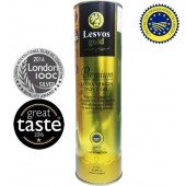 Lesvos gold P.G.I. оливковое масло Extra Virgin PREMIUM 0,2% с o.Лесбос 1л жесть