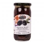 """Delphi сушеные маслины """"Зароменес"""" в подсолнечном масле 340г стекло"""