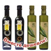 НАБОР 2шт Sellas оливковое масло Extra Virgin 0,3% Organic (Bio) c п/o Пелопоннес 500мл стекло + 2шт Оливковое масло Extra Virgin Organic (Bio) Anoskeli P.D.O. c о.Крит 500мл стекло (1шт=612р)