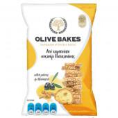 Сухарики пшеничные с оливками и куркумой, Olive Bakes, 80г