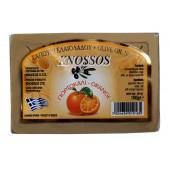 Knossos натуральное оливковое мыло с апельсином 100г