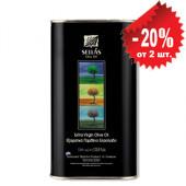 Sellas оливковое масло Extra Virgin 0,3% c п/o Пелопоннес 500мл жесть