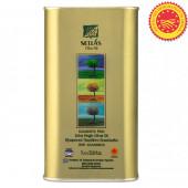 Sellas оливковое масло Extra Virgin 0,3% P.D.O. Kalamata c п/o Пелопоннес 1л жесть