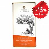 Cretan Mythos оливковое масло Extra Virgin с о.Крит 3л жесть