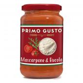 Primo Gusto Соус томатный с Маскарпоне и Рукколой 350г стекло