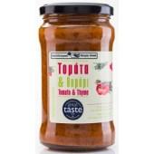 Simply Greek cоус из томатов и тимьяна 280г стекло