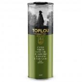 Масло оливковое Extra Virgin Olive Oil Монастырское TOPLOU 1л жесть