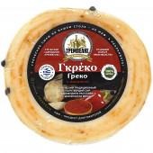 """Сыр полутвёрдый """"Греко с паприкой"""" TREMPELIS 170-200г вакуум"""
