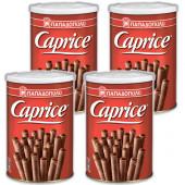 Вафли венские с фундуком и шоколадным кремом Caprice 4штх400г жесть (1шт=416р)
