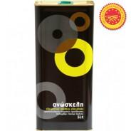 Anoskeli оливковое масло Extra Virgin P.D.O. Kolymvari с о.Крит 5л жесть