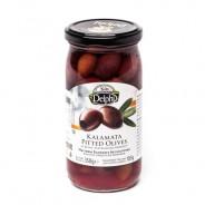 """Delphi маслины """"Kalamata"""" c п/о Пелопоннес б/к в рассоле 350г стекло"""