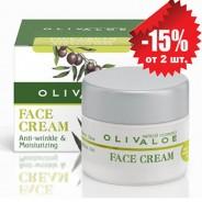 OlivAloe Увлажняющий крем от морщин для жирной и нормальной кожи лица 40мл
