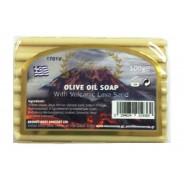 Knossos натуральное оливковое мыло c вулканической лавой 100г
