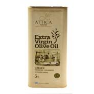 Attiсa Food оливковое масло Extra Virgin c п/o Пелопоннес 5л жесть (1л=624р)