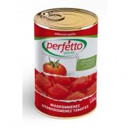 Perfetto special томаты резанные очищенные в собственном соку 400г жесть